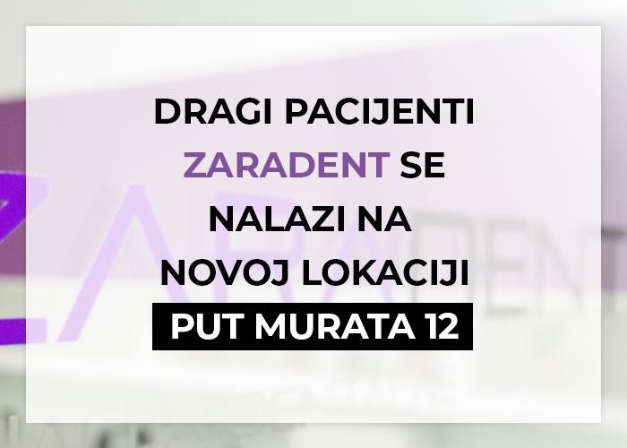 Ordinacija Dentalne Medicine Zara Dent Zadar - Stomatolog Zadar