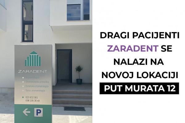 Zararent na novoj lokaciji - Put Murata 12